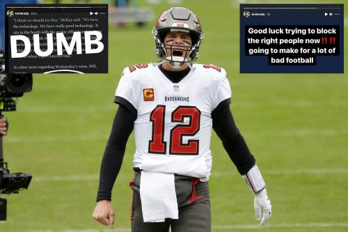 Tom Brady is completely flipping out over NFL's 'dumb' jersey number rule