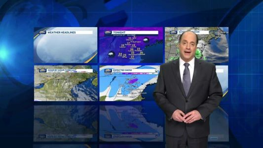 Watch: Light snow to rain for some Saturday