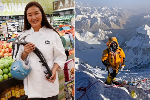 This Whole Foods worker has an insane side gig: climbing Everest