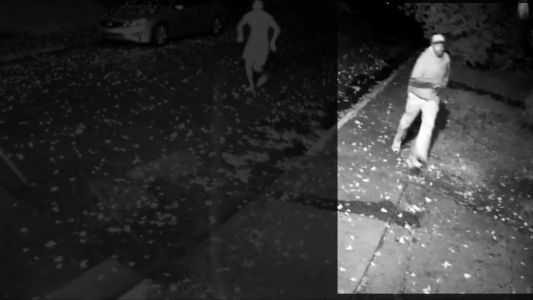 VIDEO: Barefoot man jumps out of bed to chase burglary suspect at least half a mile
