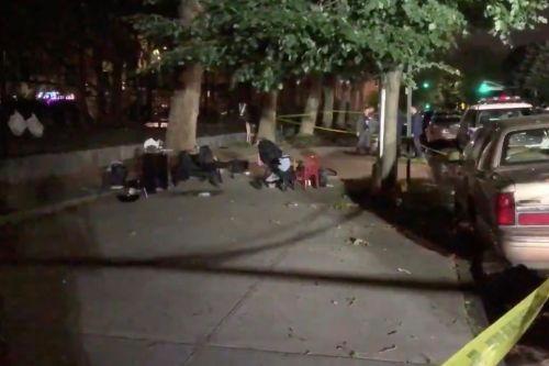 1-year-old boy among four people shot outside Brooklyn park