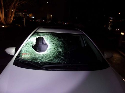 Calif. man dies after being struck by 35-lbs. rock tossed onto freeway