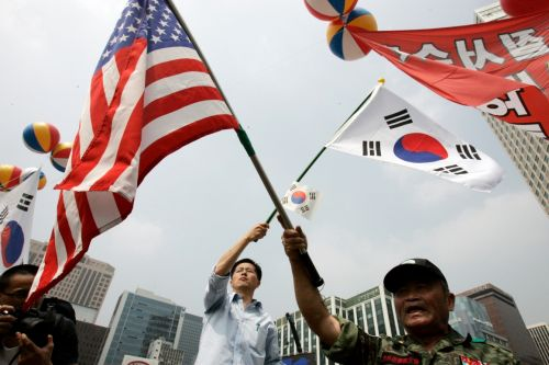 US and South Korea agree on new cost-sharing deal for troops