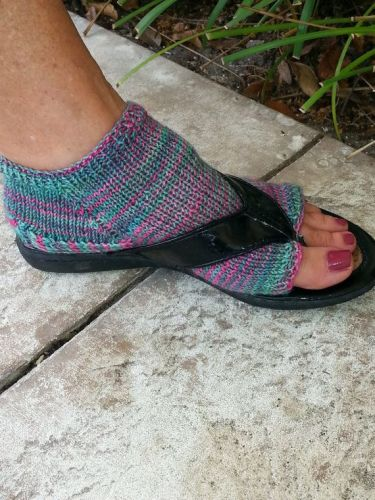 Flip-flop socks are here for people who refuse to admit summer is over