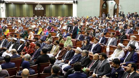 Afghan lawmaker attempts to stab opponent in parliamentary chaos