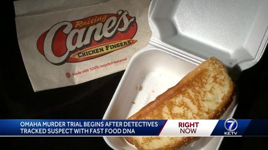 Omaha murder trial begins after detectives tracked suspect with fast food DNA