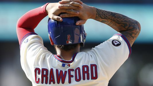 Phillies' J.P. Crawford out 4 to 6 weeks with fractured hand