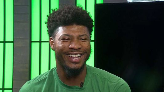 Get to know the gentler side of Celtics player Marcus Smart