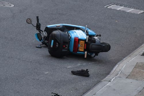Revel scooter driver suffers serious head injury after crashing into pole