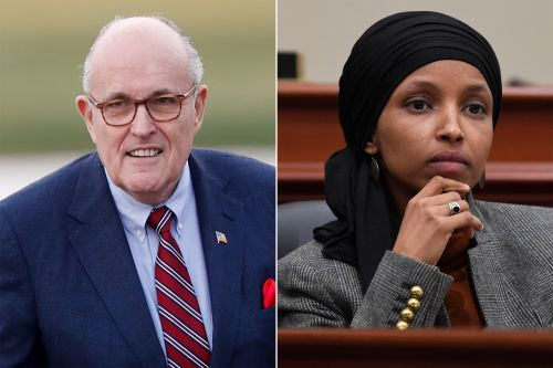 Rudy Giuliani spreads conspiracy theorists' misleading video about Ilhan Omar