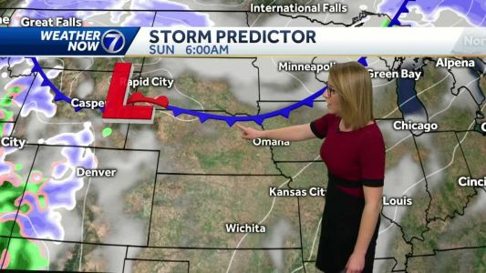 Mild this weekend, cold and windy Monday
