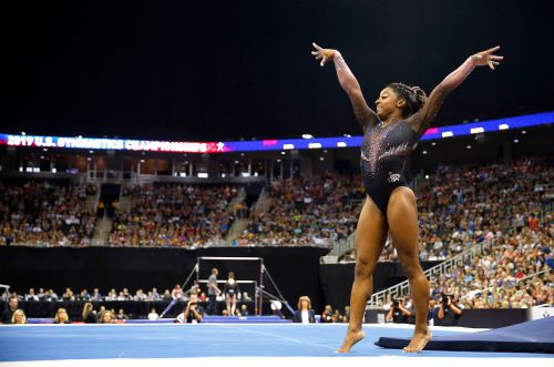 Simone Biles makes history with 'hardest move in the world' at U.S. Gymnastics Championships