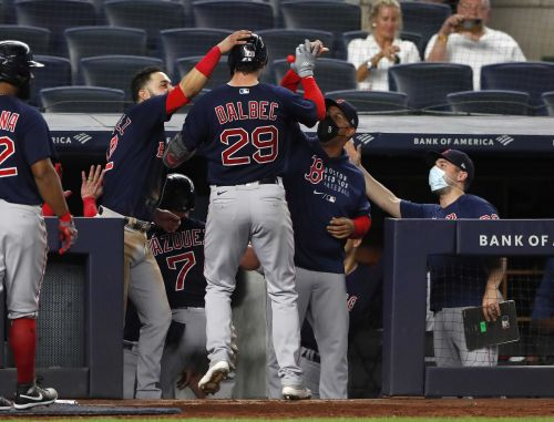 Red Sox beat the Yankees 7-3 with big rally in the eighth inning