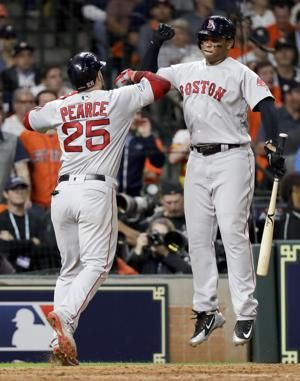 Bradley's slam helps Red Sox beat Astros 8-2 in ALCS