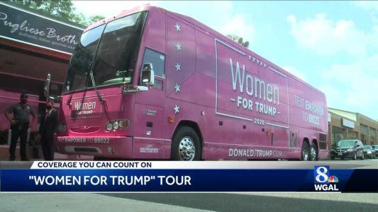 Women for Trump bus tour makes stop in Harrisburg