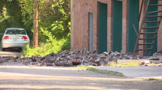 Several families displaced following partial building collapse in Carrick