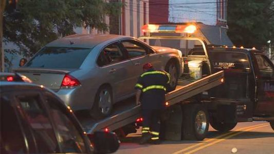 Police: At least 1 person struck by car in suspected OVI crash