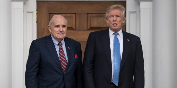 Rudy Giuliani talked to Trump about getting a preemptive pardon before the president leaves office, report says
