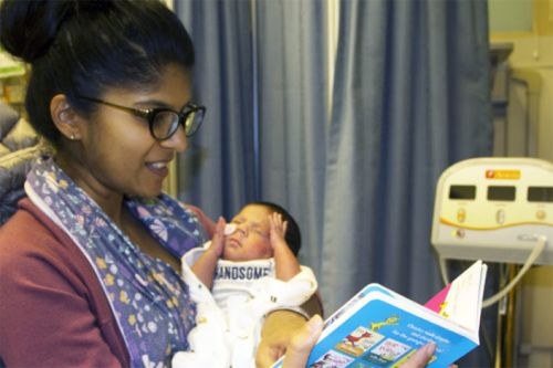 A dose of Dr. Seuss for Packard Children's preemies