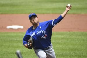 McGuire hits 3 doubles as Ryu, Blue Jays beat Orioles 7-4