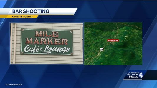Police searching for Connellsville bar shooting suspect