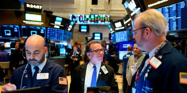 Dow soars 572 points as strong jobs report emboldens dip-buying in tech stocks