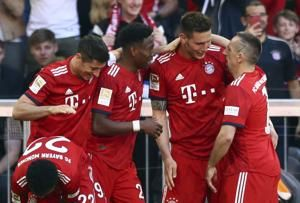 Bayern extends lead in Bundesliga to 4 points