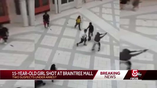 Video shows moments before shooting inside South Shore Plaza