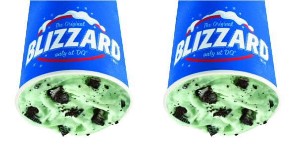 Dairy Queen Is Bringing Back Its Oreo Mint Blizzard So It's Our Lucky Day