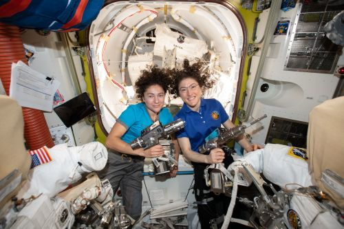 The 1st All-Woman Spacewalk: Photos, Videos and Celebratory Tweets