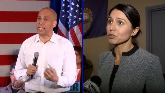 Democratic presidential candidates visiting New Hampshire