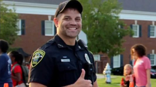 One year after being shot in the head, this police officer participated in a 5K