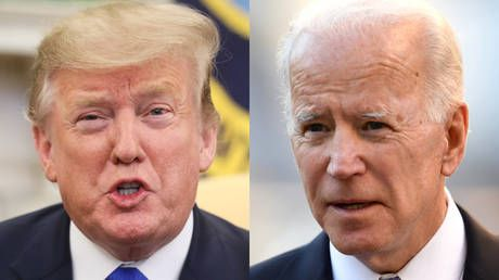 Trump tweets about 'tongue-tied' Joe Biden after former VP accidentally says he's running in 2020