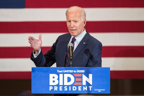 Joe Biden calls for President Trump's impeachment in New Hampshire