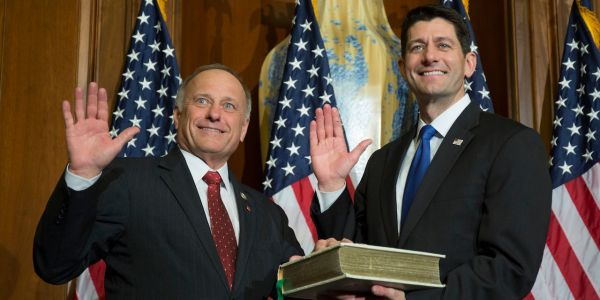 House Republicans Slam Rep. Steve King for Asking When the Term 'White Supremacist' Became 'Offensive'