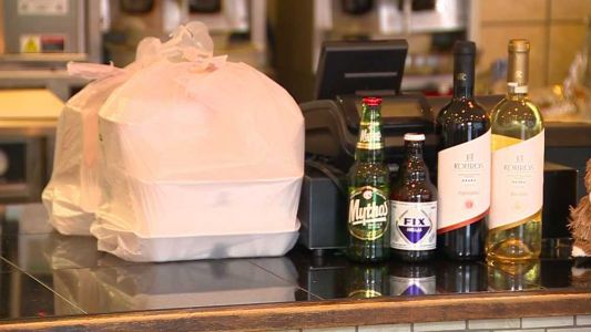 Restaurants allowed to sell beer, wine with takeout, delivery orders