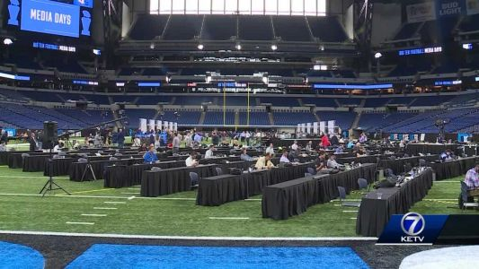 Big Ten Conference meeting wrapped up this afternoon in Indianapolis