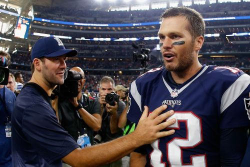 Brady, Rodgers not fans of Tony Romo's Super Bowl prediction
