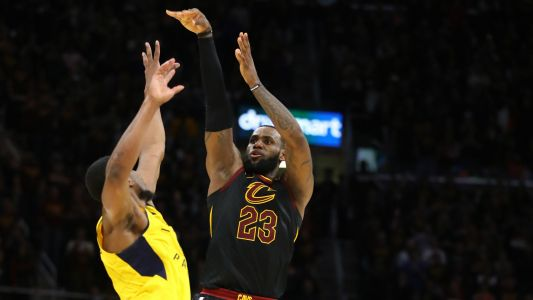 LeBron James' game-winner draws comparisons to Michael Jordan's iconic shot