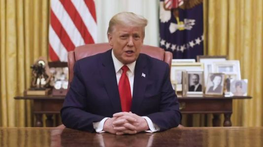 President Trump releases video statement after second impeachment