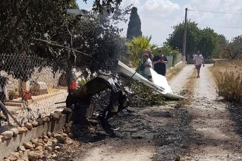 Plane, helicopter collide mid-air, killing 2 children, 5 adults in Mallorca