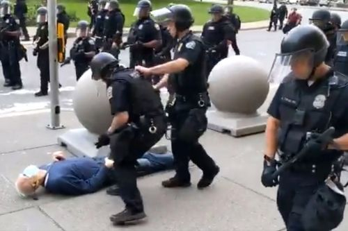 Buffalo cops expected to face charges after pushing 75-year-old protester