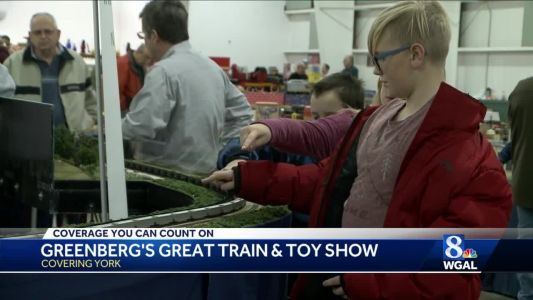 Longest, largest model train and toy show held in York