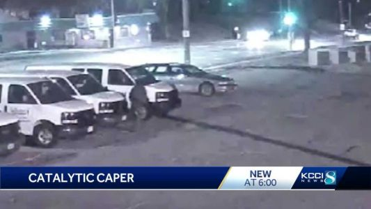 Police warn public of thefts involving vehicle catalyic converters