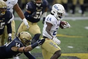 No. 22 Tulsa beats Navy 19-6 to earn berth in AAC title game