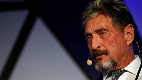 Software guru John McAfee and his top cryptocurrency adviser charged with fraud and money laundering by US federal prosecutors