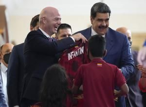 Infantino says biennial WCups can bring youth back to soccer