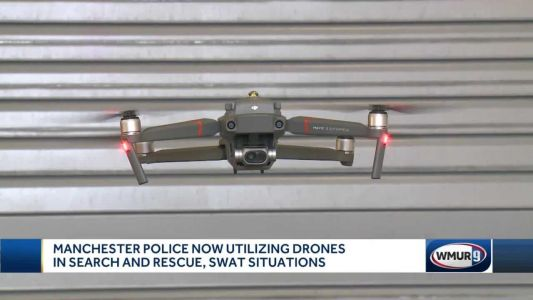 Manchester police introduce drone unit in search and rescue, SWAT situations