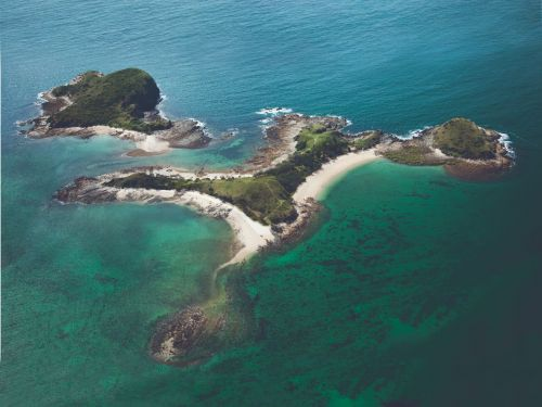 A private island off the coast of Australia was once won in a poker game and sold for $78. Now, it's back on the market asking $17 million - take a look inside