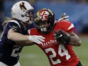 Rypien, Stick help West beat East 21-17 in Shrine Game